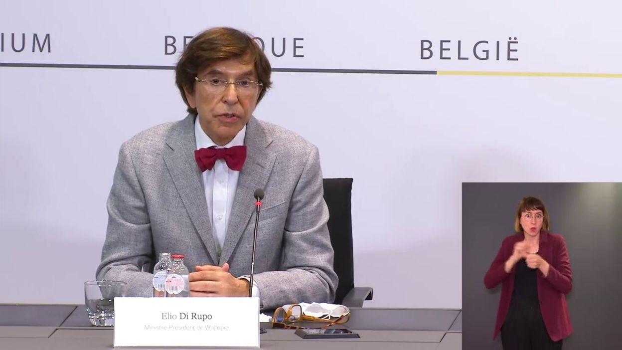 Comité de concertation du 18 juin : message d'Elio Di Rupo