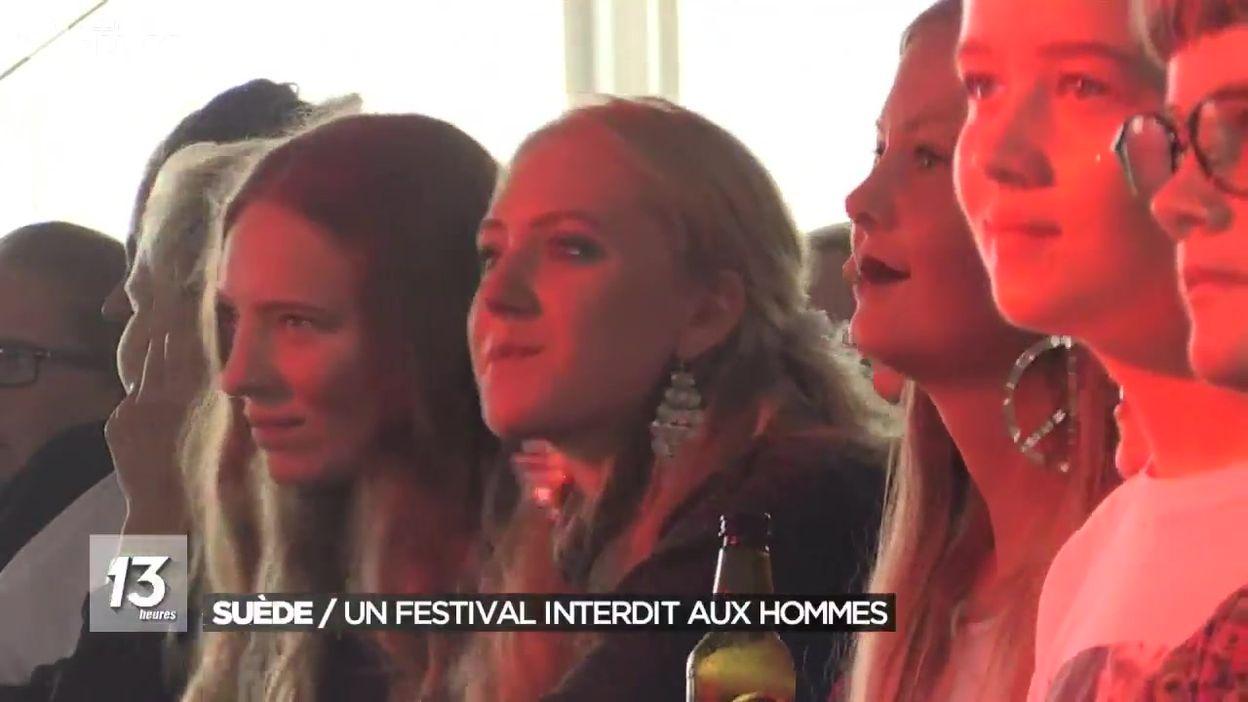 Suède : un festival interdit aux hommes
