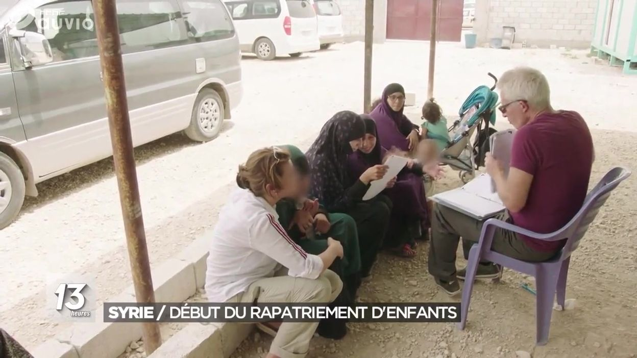 Syrie : début du rapatriement d'enfants de djihadistes