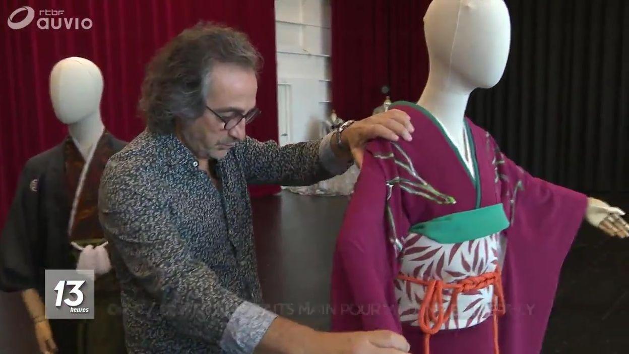 Opéra Royal de Wallonie : 60 kimonos faits main pour Madame Butterfly