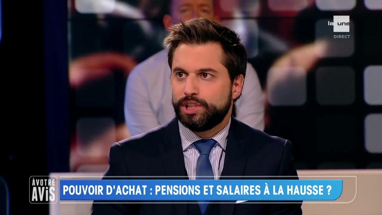 Georges-Louis Bouchez : les réalités budgétaires empêchent l'augmentation de la pension à 1500 € net