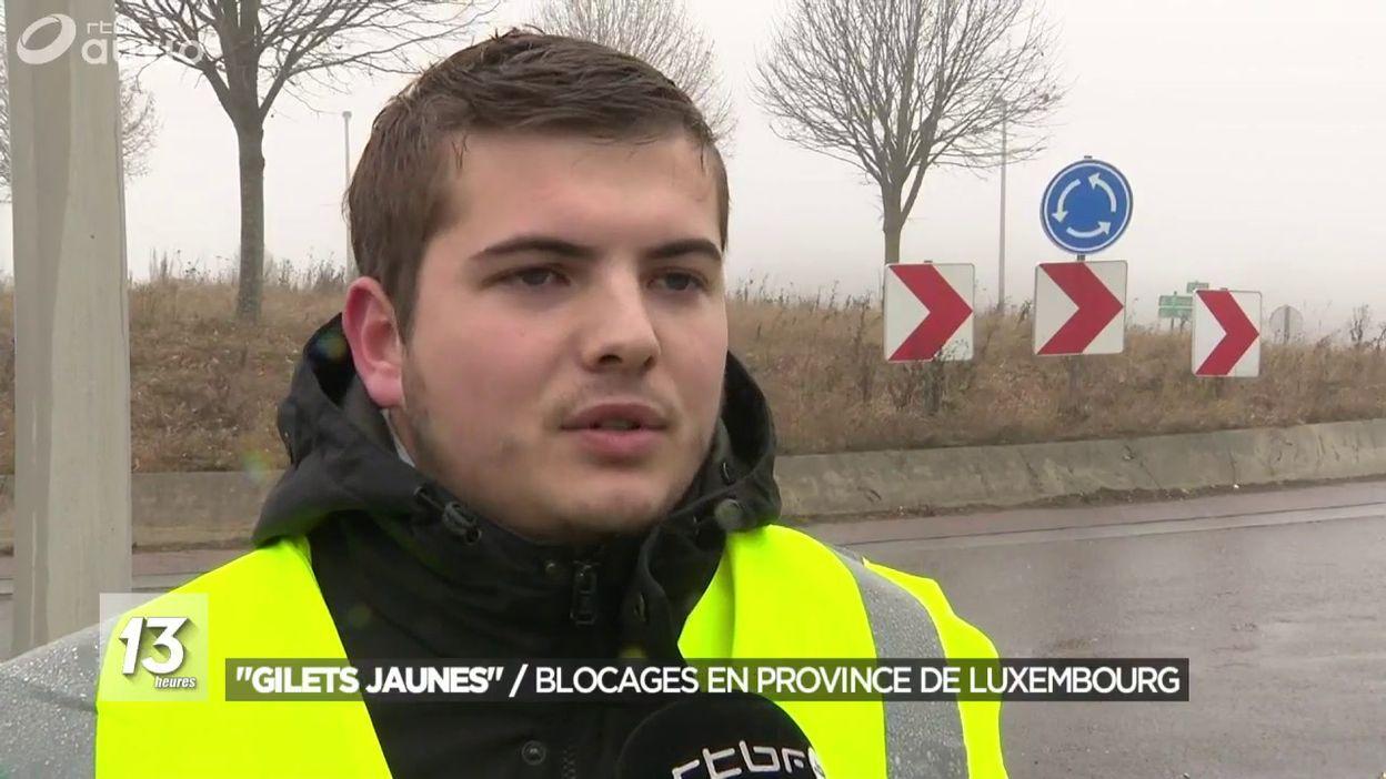 Gilets Jaunes le mouvement s étend en province de Luxembourg