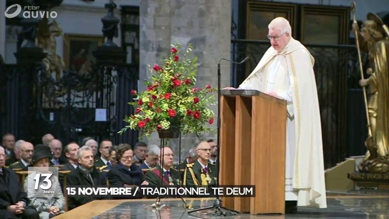 15 novembre : traditionnel Te Deum
