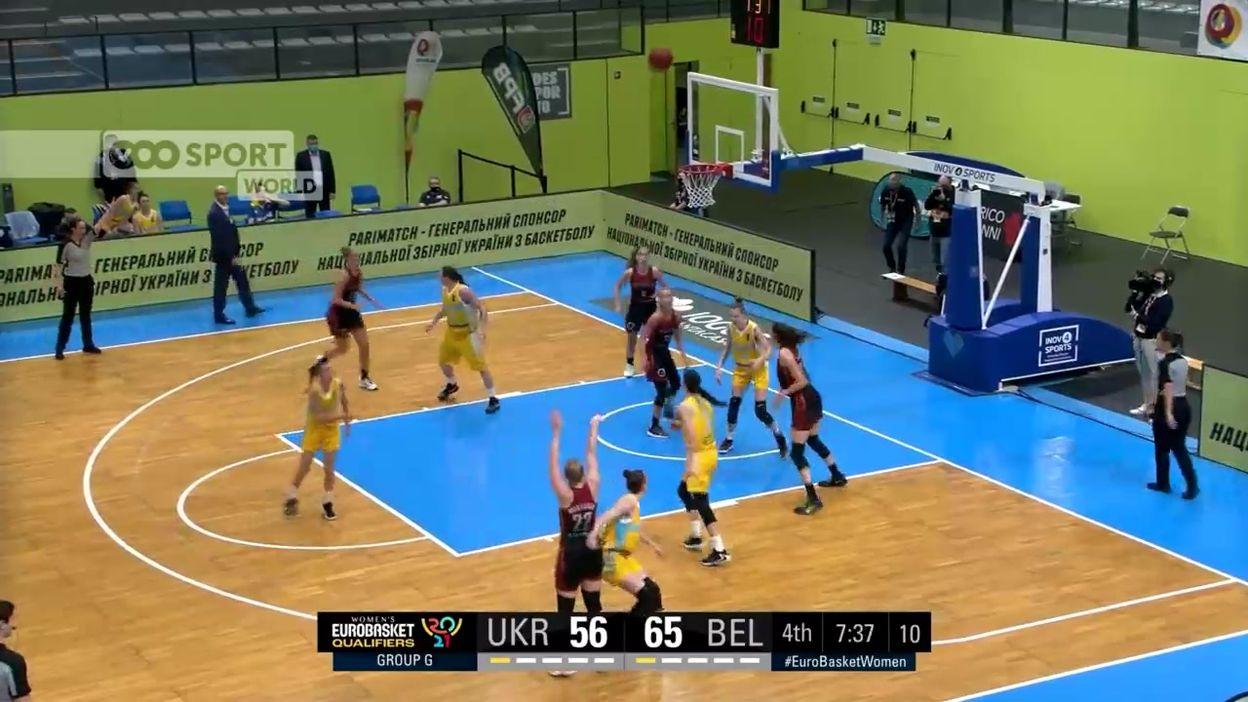 Ukraine - Belgique : 65-87