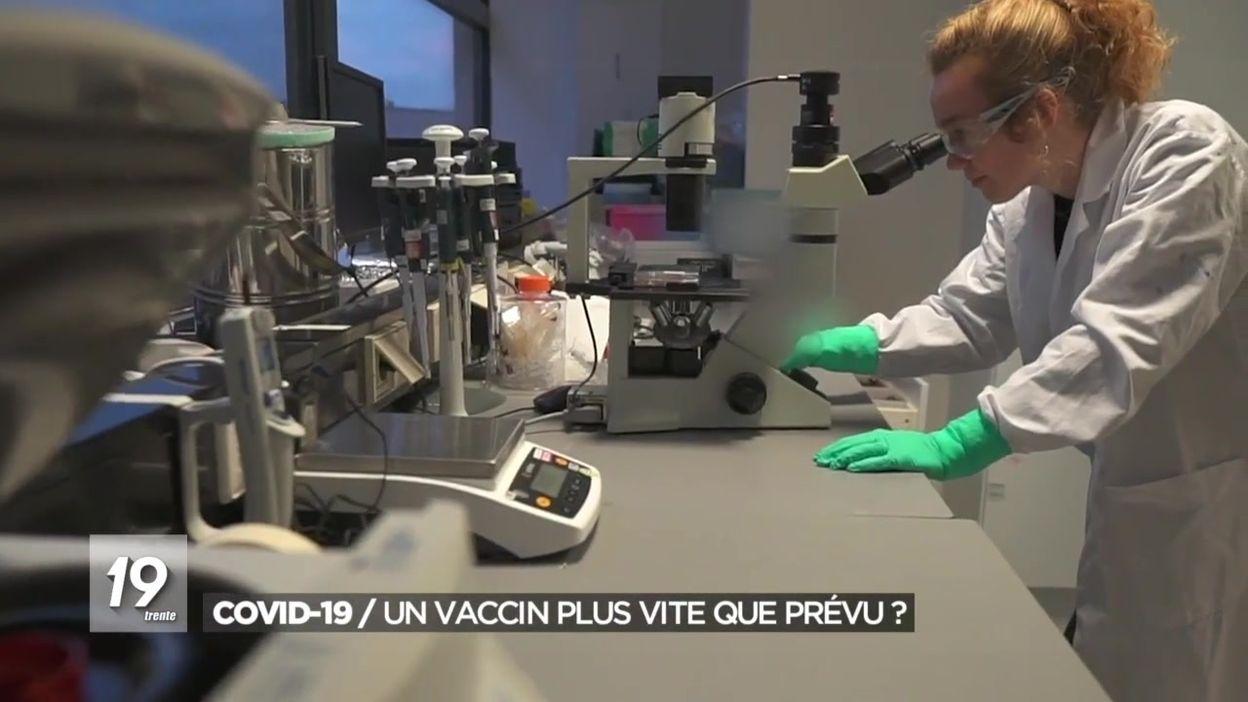 Coronavirus : un vaccin plus tôt que prévu ?