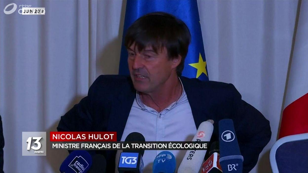 Nicolas Hulot souhaite la fermeture de 17 centrales nucléaires