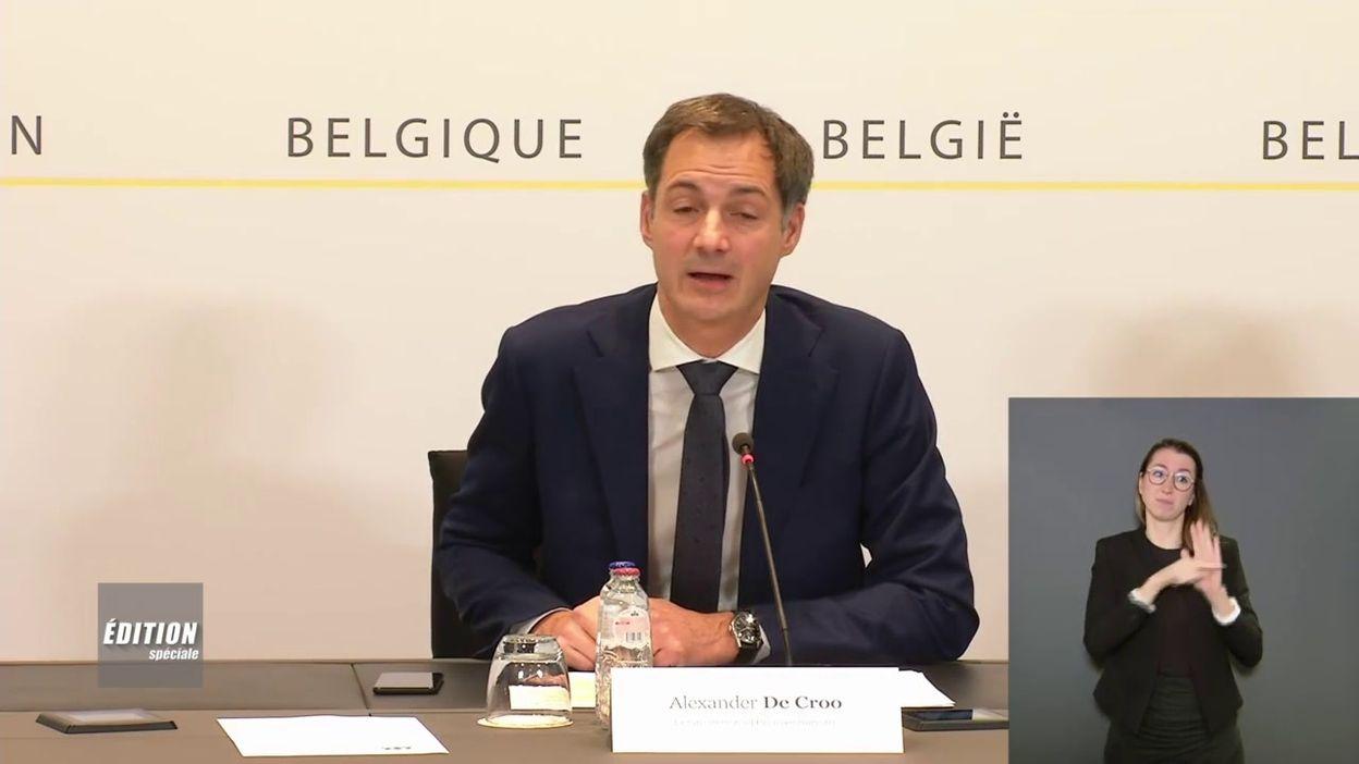 Coronavirus en Belgique : des règles plus strictes dans différents domaines
