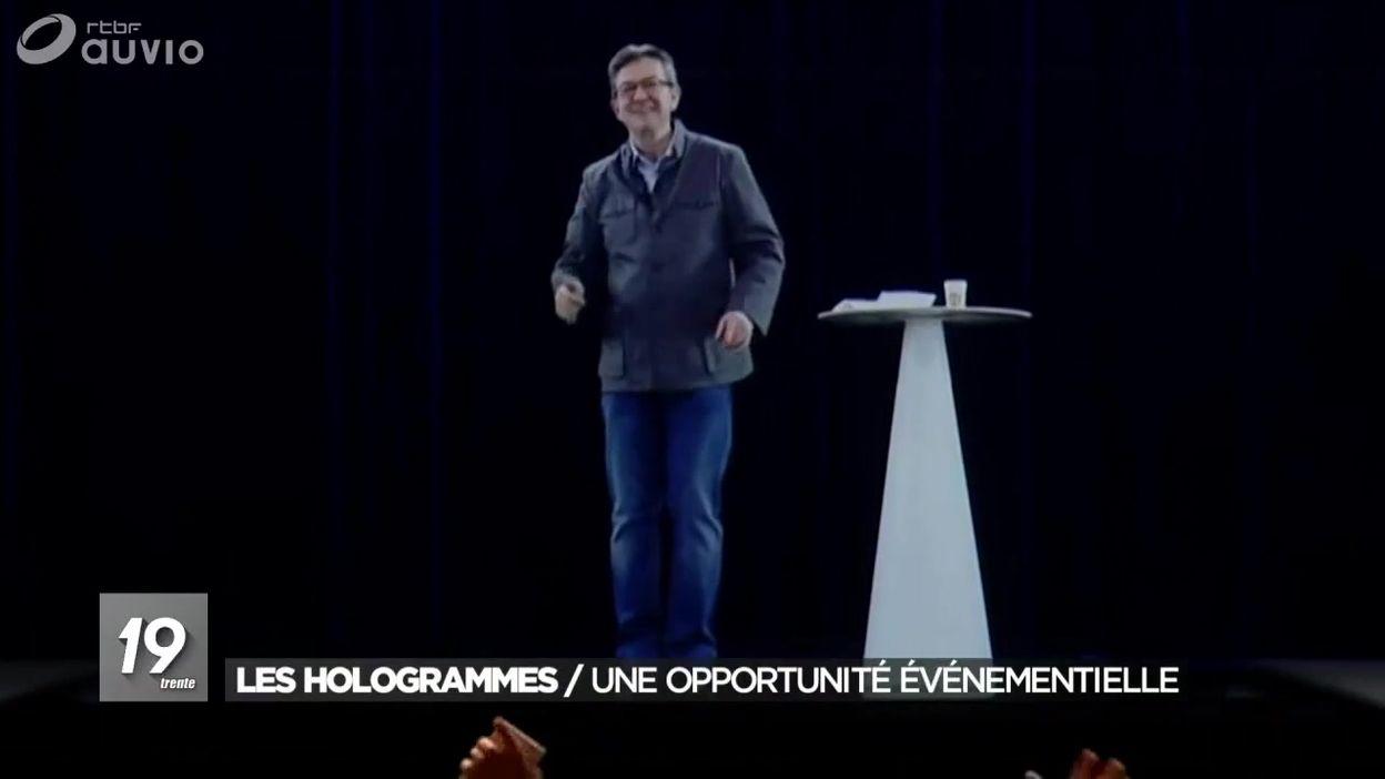 Les hologrammes : Une opportunité événementielle