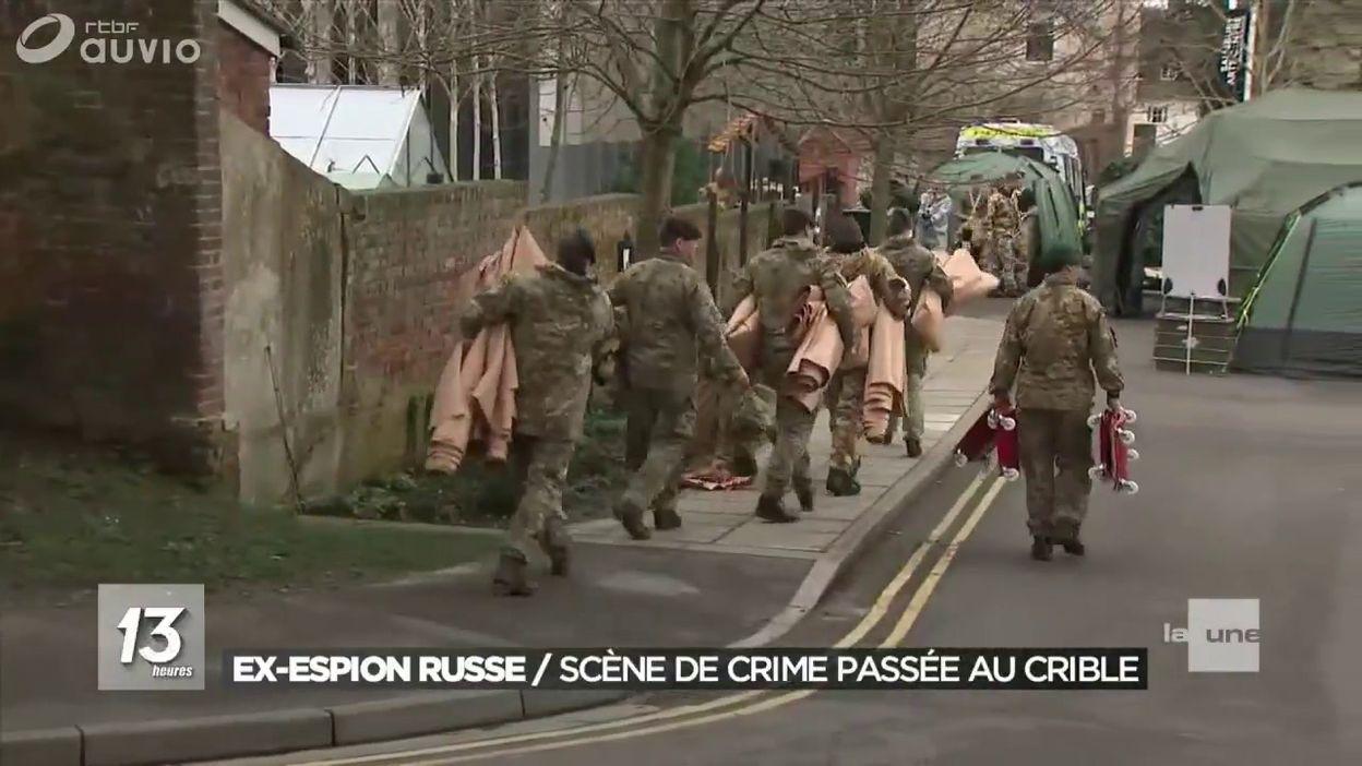 Espion russe assassiné en Angleterre : la scène du crime contaminée