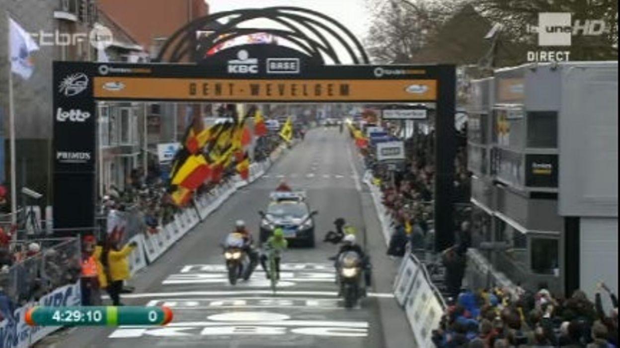 La victoire de Sagan sur Gand-Wevelgem 2013