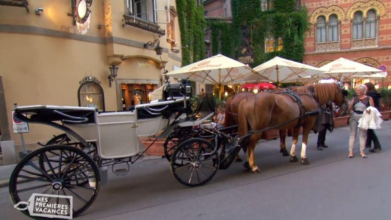 INEDIT : Yvette et Stéphanie visitent la ville en calèche!