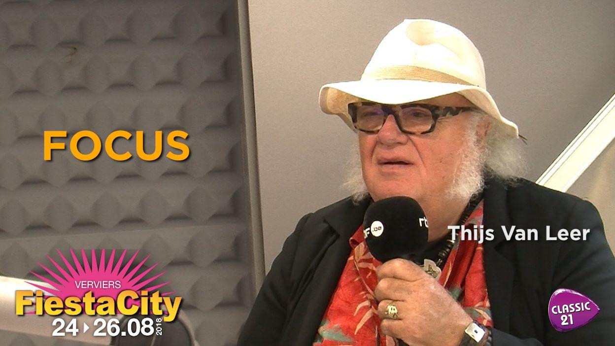 Focus en interview à la Fiesta City 2018