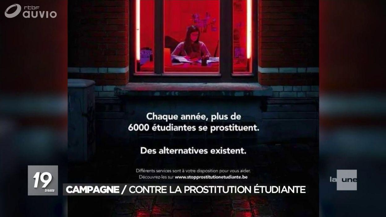Campagne contre la prostitution étudiante