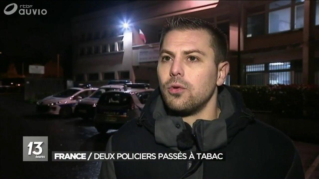 Des policiers français passés à tabac