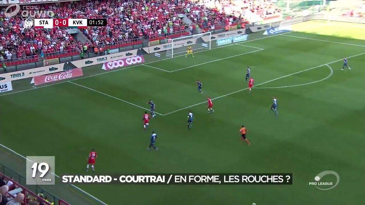 Football : Standard - Courtrai