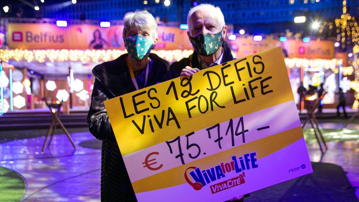 Les 12 défis Viva for Life sont terminés, vous avez récolté 75.714 euros !