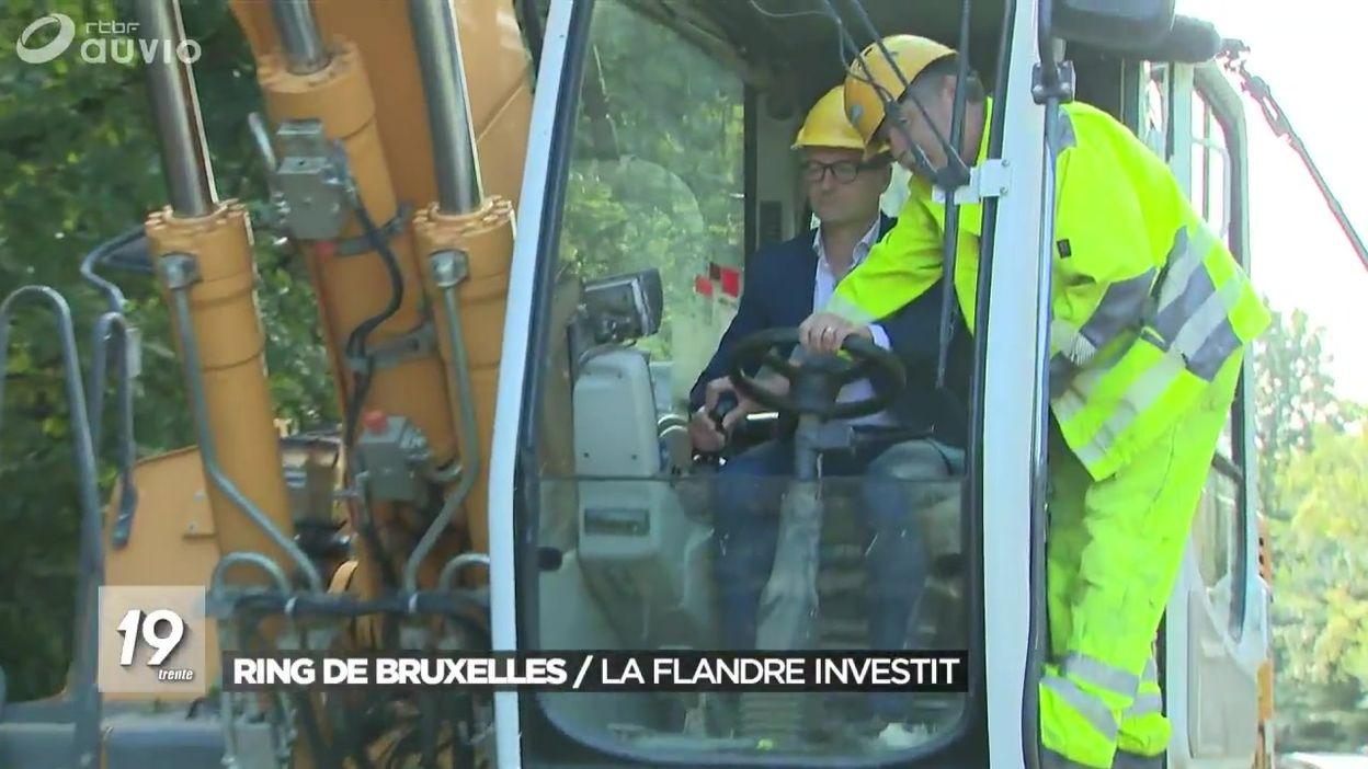 Ring de Bruxelles : la Flandre investit