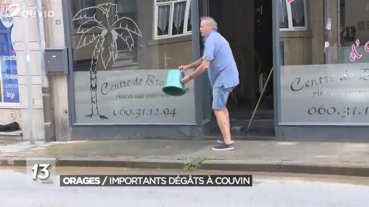 Orages : importants dégâts à Couvin