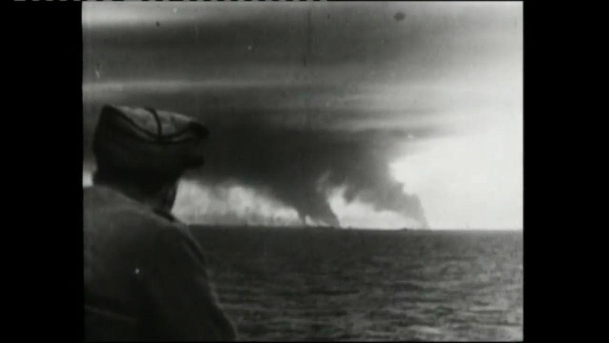 Bataille de Dunkerque: extrait des actualités britanniques de l'époque