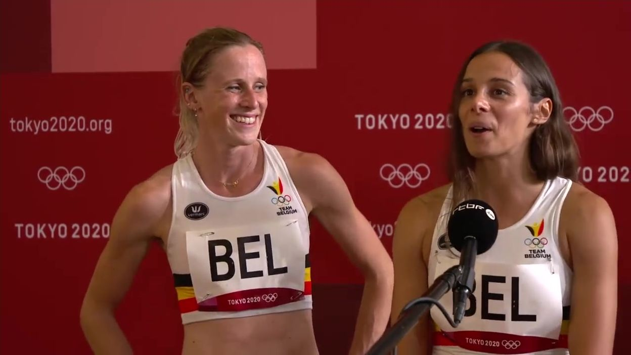 Camille Laus et Imke Vervaet :