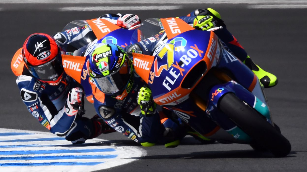 Moto2 - GP d'Espagne : Victoire de Lorenzo Baldassarri
