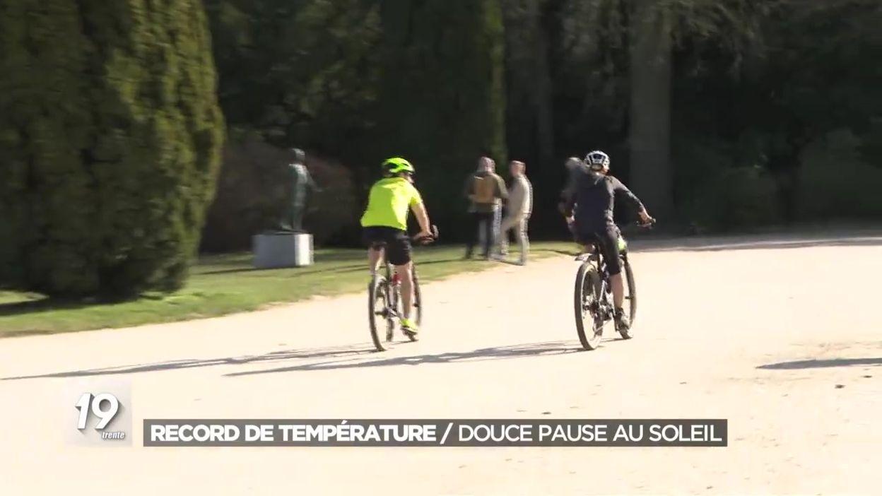 Record de température : douce pause au soleil