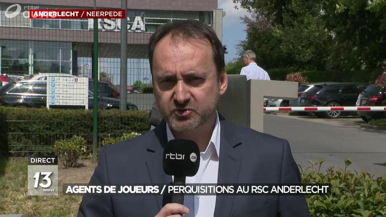 Perquisitions à Anderlecht et à l'Union Belge pour blanchiment d'argent
