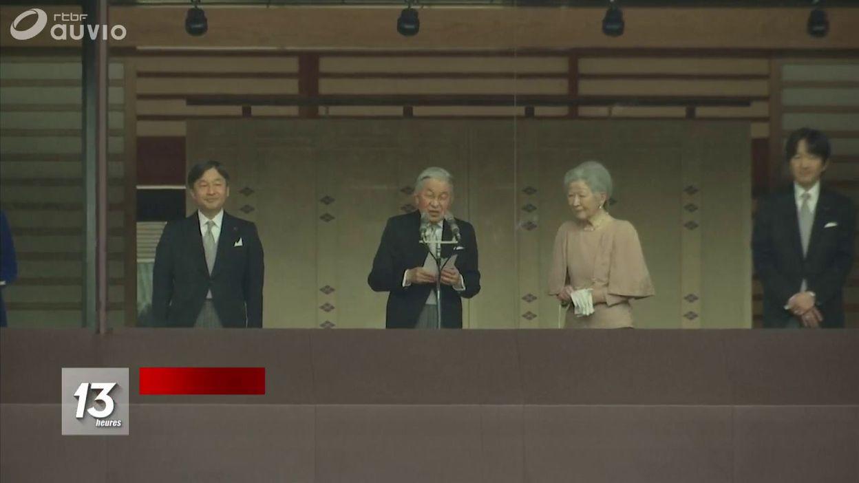 L empereur du Japon met en avant son règne pacifique avant d abdiquer