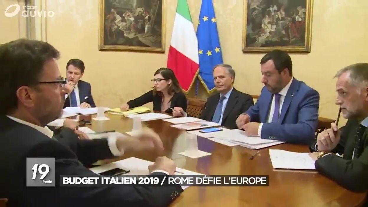 Italie : le budget 2019 non conforme aux exigences de Europe