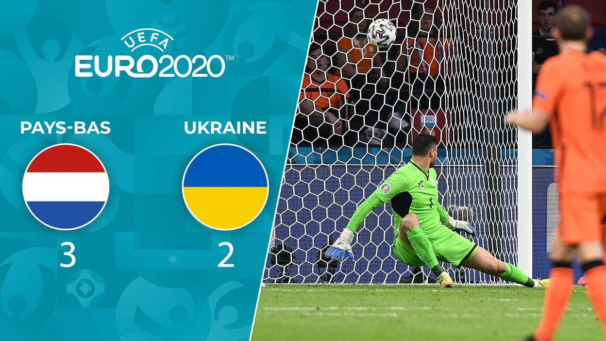 Pays-Bas - Ukraine : Le Résumé du Match