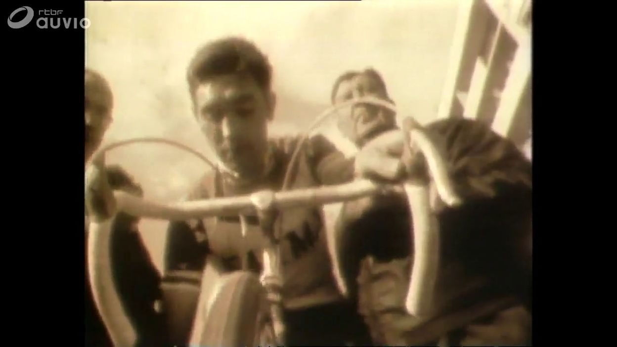 La passation Anquetil/Merckx se déroule à Paris-Nice 1969