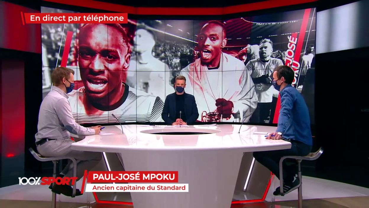 Polo Mpoku, invité dans 100% Sport: