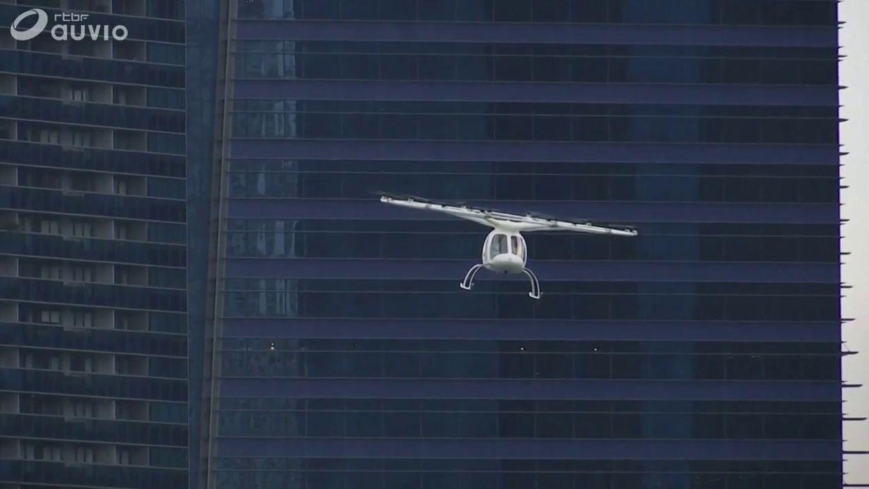 Un taxi volant électrique a volé au-dessus de Singapour