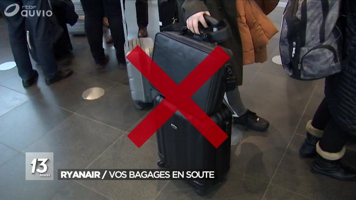 site réputé 2b915 320aa Ryanair et les bagages : ce qui change - JT 13h - 11/01/2018