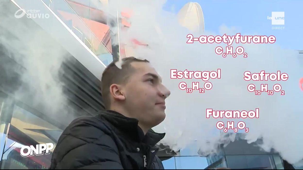 Les dangers de l'e-cigarette