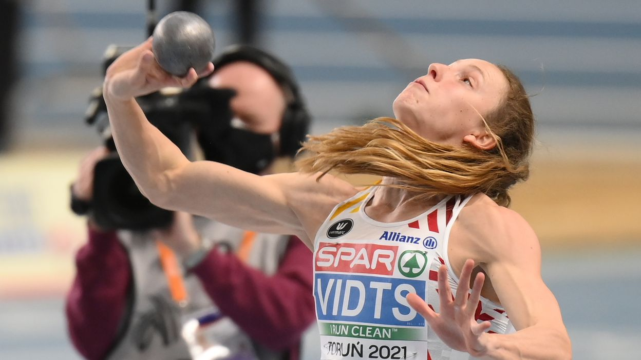 Noor Vidts bat son record au poids (13m83)