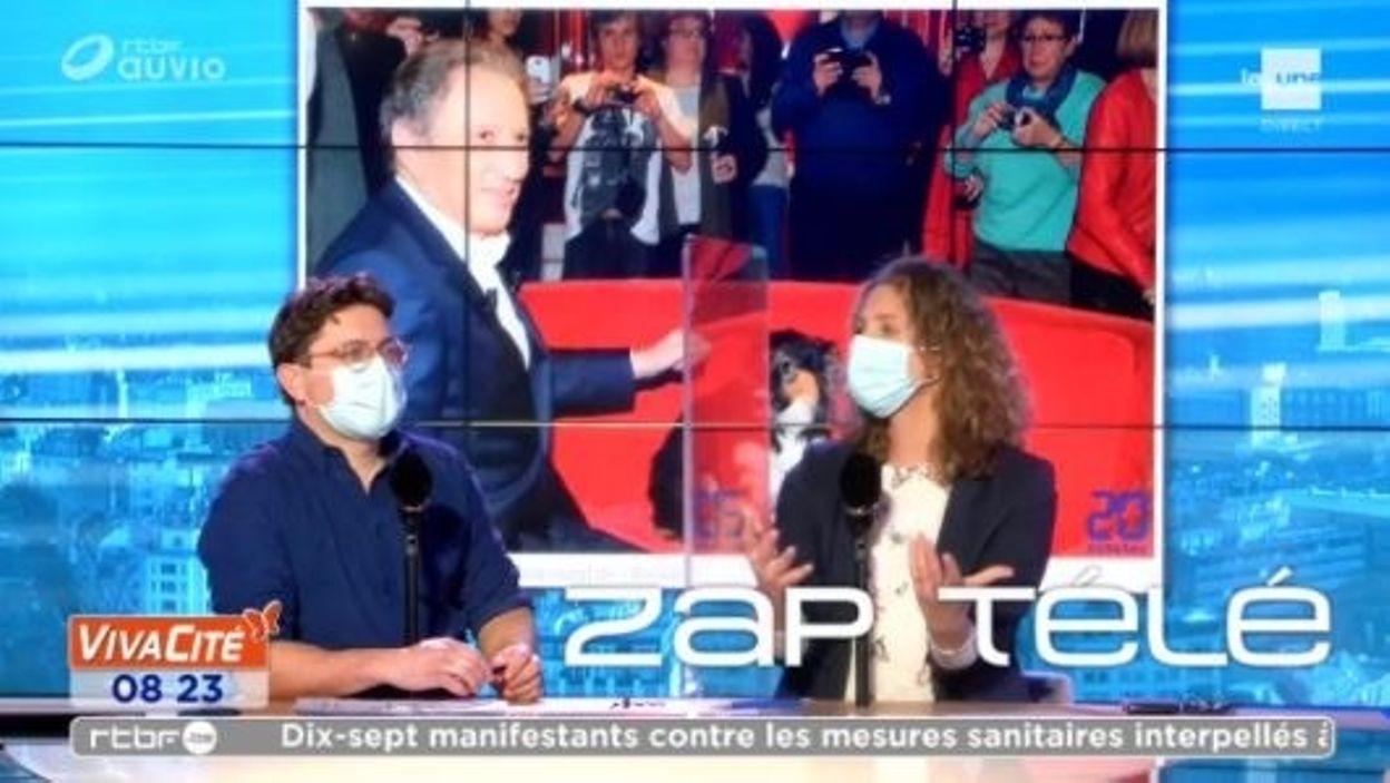 Le retour de Michel Drucker en télévision lors d'une émission spéciale
