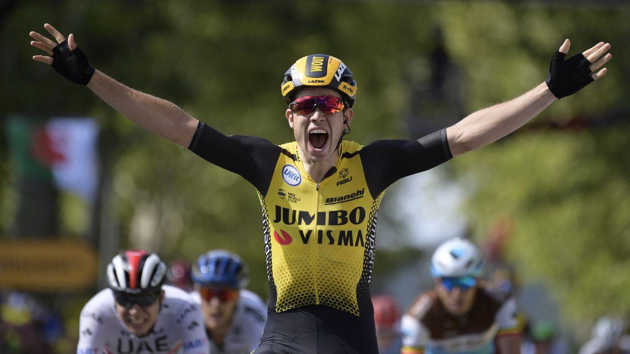 10ème étape : Saint-Flour - Albi : Victoire de Wout Van Aert