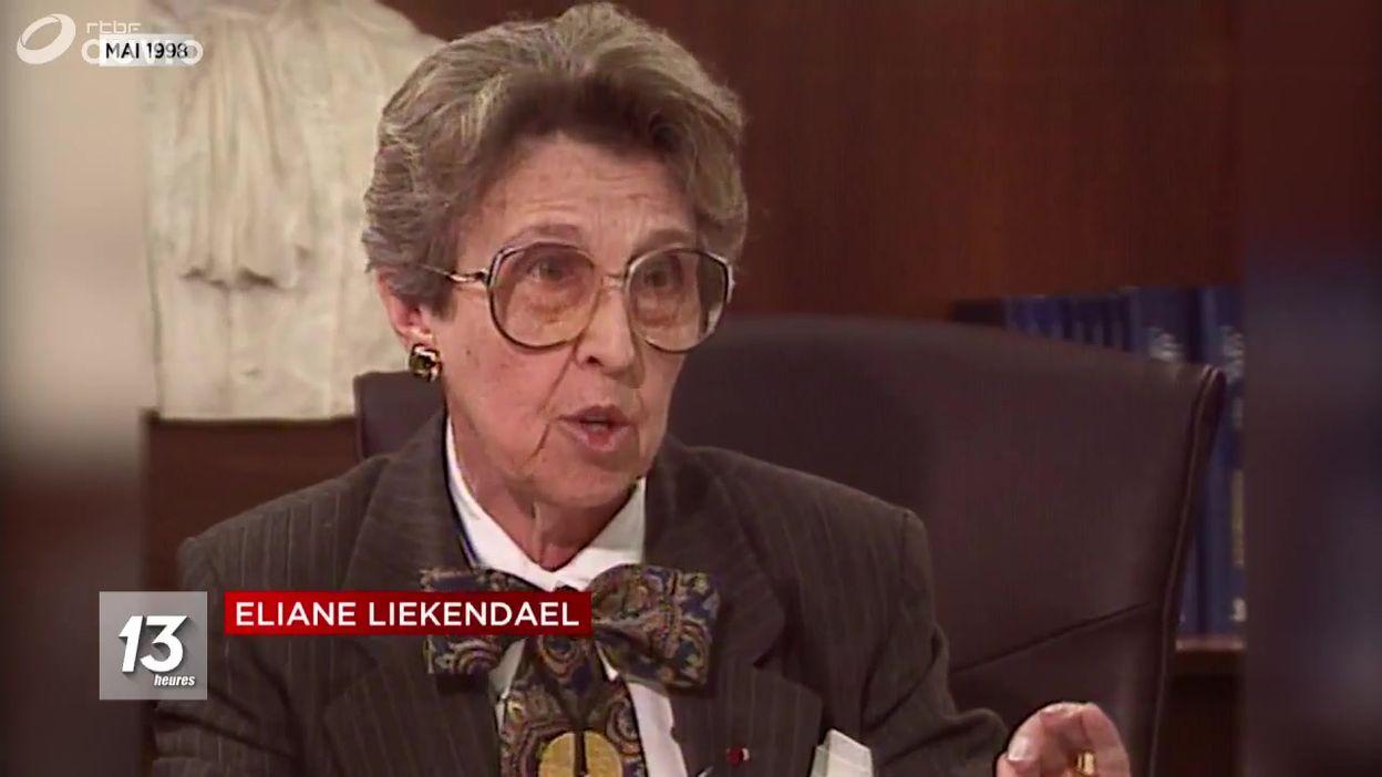 Décès d'Eliane Liekendael, la première femme procureur général