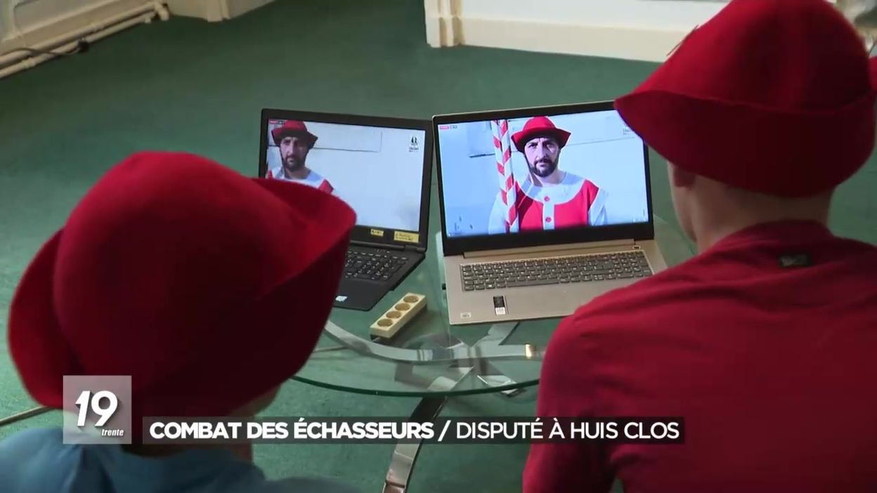 Namur : le combat des échasseurs vécu à distance sur les réseaux sociaux