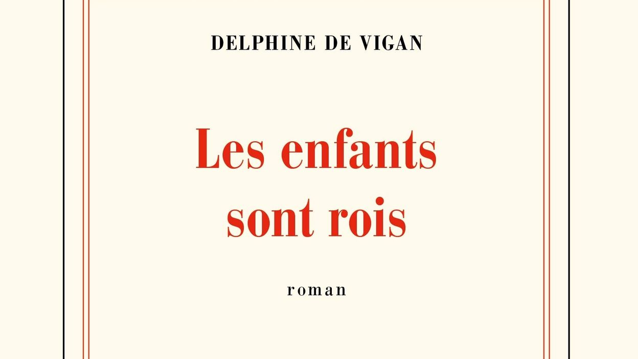 Delphine De Vigan pour son livre « Les enfants sont rois »