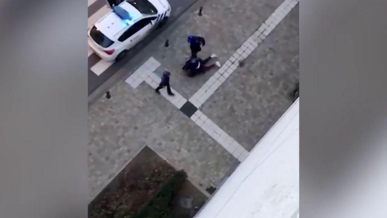 Arrestation Ixelles