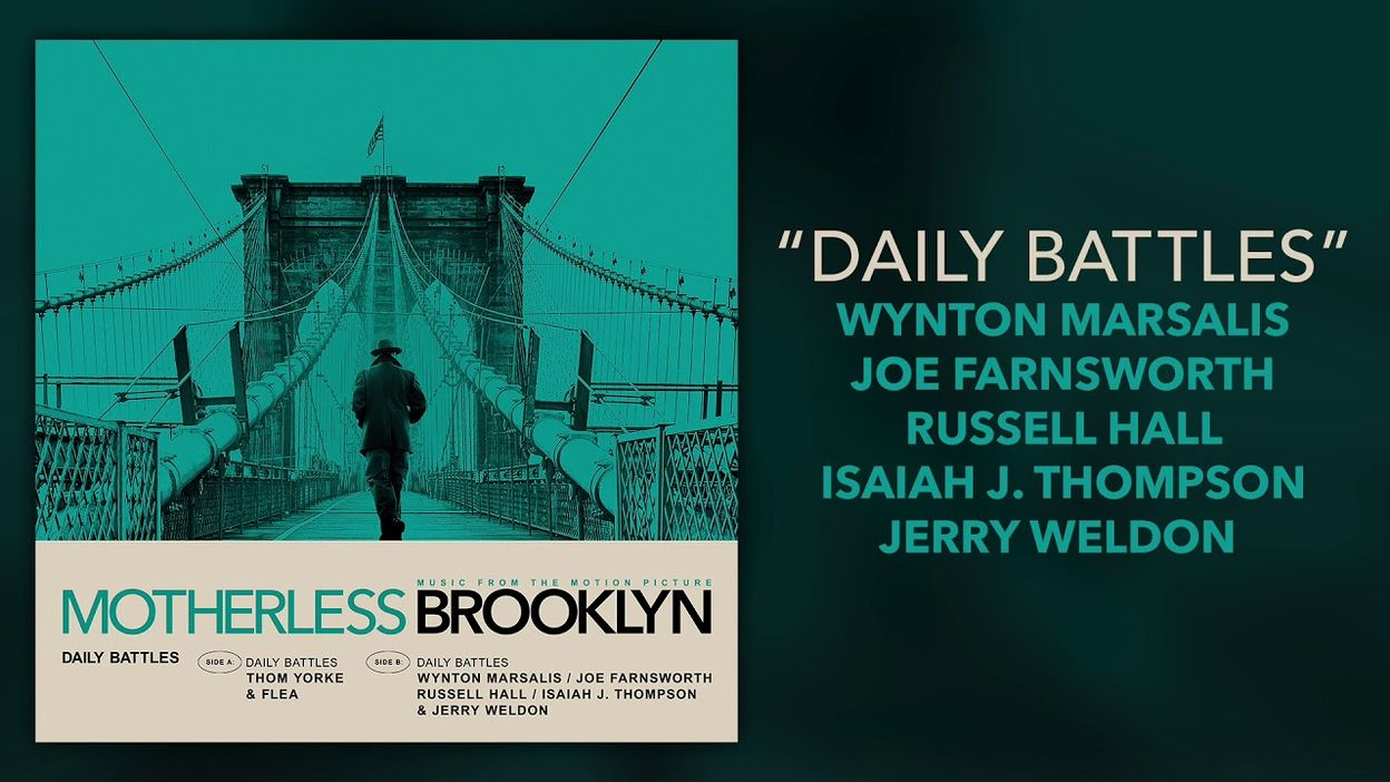 Wynton Marsalis - Daily Battles - Motherless Brooklyn (Official Video)