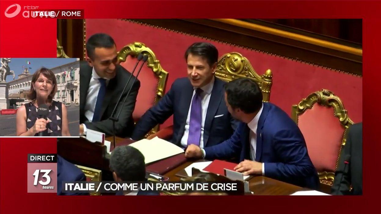 Italie : parfum de crise en attendant l'audition de Giuseppe Conte