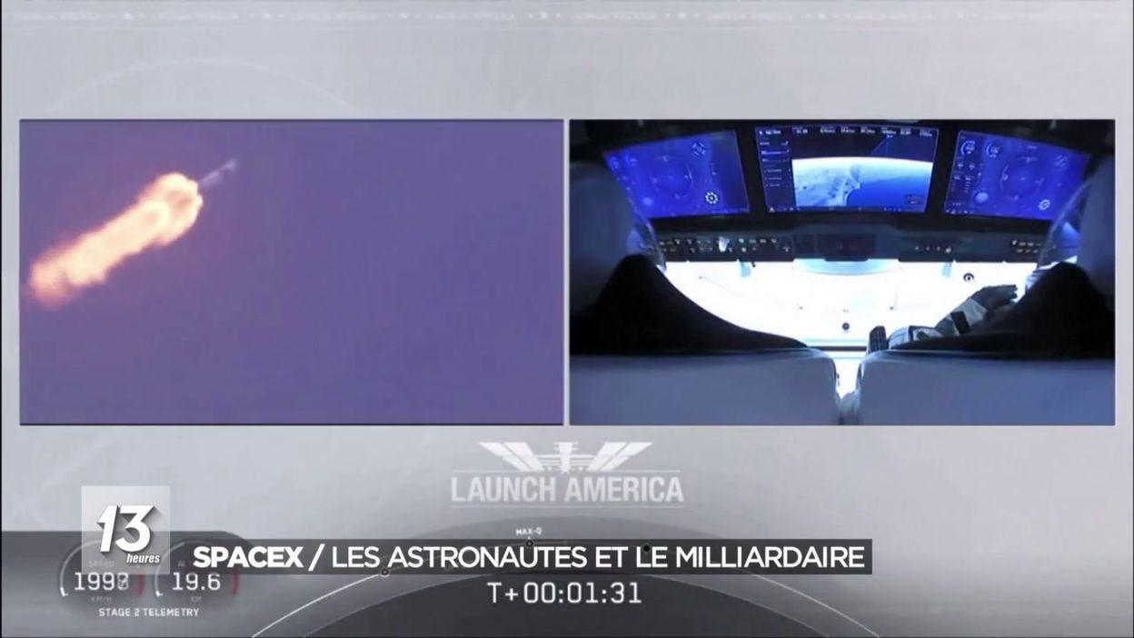 USA : Décollage réussi pour SpaceX