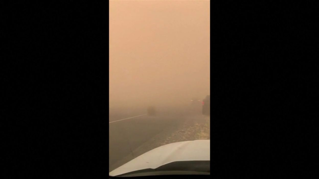 Tempête de sable en Arizona