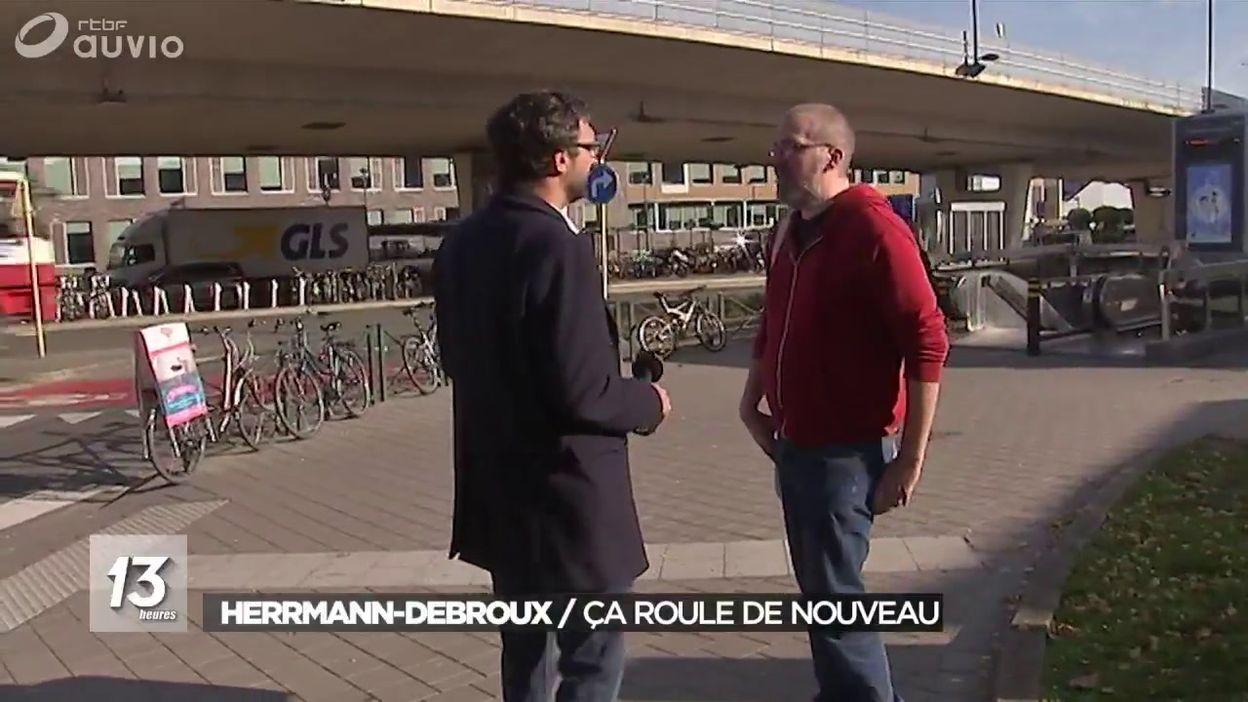 Hermann-Debroux : ça roule de nouveau