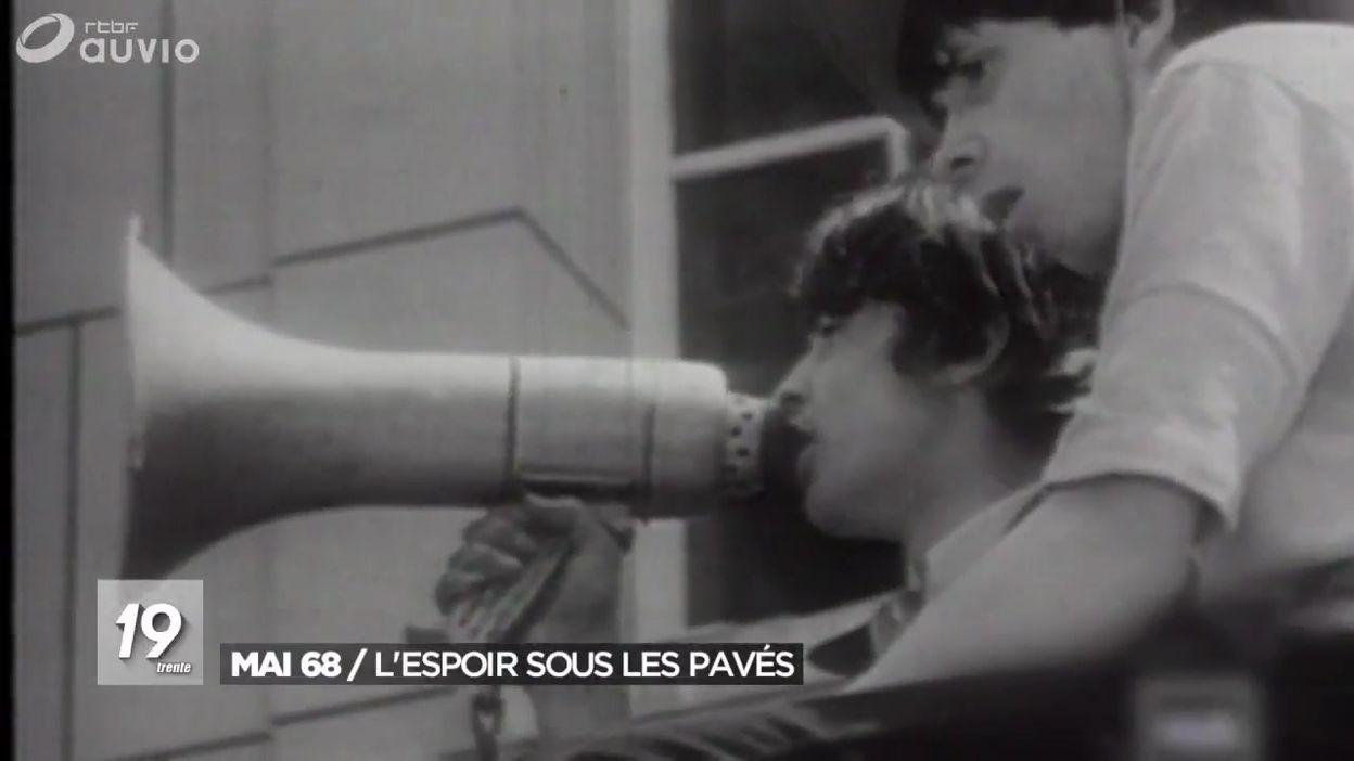 Mai 68 : l'espoir sous les pavés