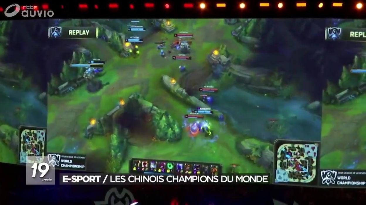 E-Sport : les chinois champions du monde