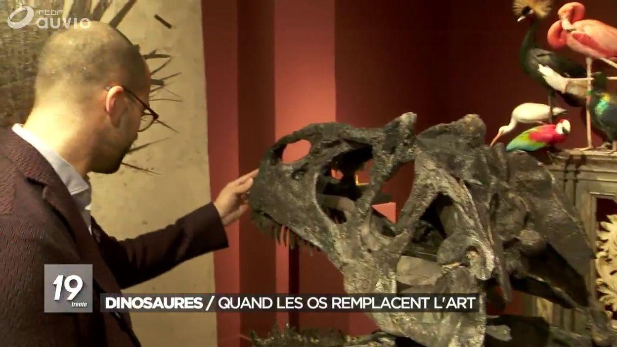 Le business des squelettes de dinosaure